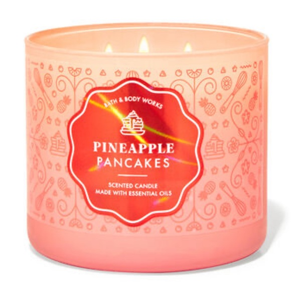 Bath and Body Works Pineapple Pancake Candle